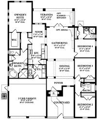 alicante ii house plan floor plans blueprints architectural