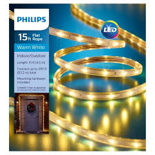 philips 15ft led flat lights warm white target