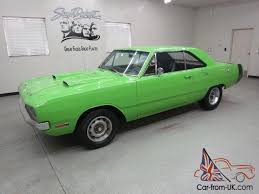 lime green dodge dart dart