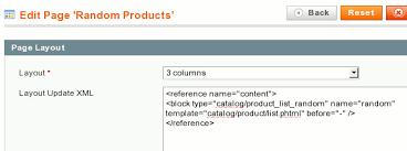 magento layout xml tutorial applying xml layout updates in magebridge 2 cms page