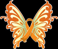 butterfly ribbon clipart