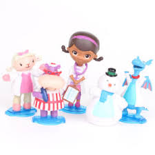 doc mcstuffin cake toppers doc mcstuffins check up time dottie 5pcs figure doll