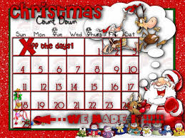 christmas countdown calendar printable countdown to christmas calendar for kids blank