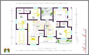 Impressive 4 Bedroom House Plans Impressive Ideas 11 Kerala Model House Plans Nadumuttam 1000 Sq Ft
