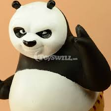 shop large size kung fu panda po figure toy cute coin bank