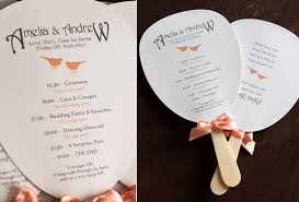 wedding ceremony fans four great stationery ideas for styling your wedding ceremony