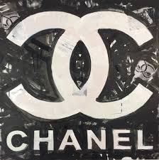 chanel art coco chanel logo by matt pecson pop art painting canvas chanel art coco chanel logo by matt pecson pop art painting canvas wall art gifts for her best selling items bedroom wall art made to order chanel logo