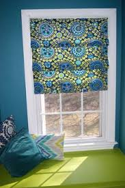 No Sew Roman Shades How To Make - diy faux roman shade from a 4 mini blind an caves and a 4
