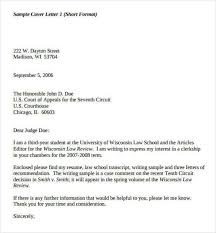 writing a short cover letter