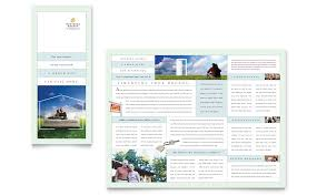 mortgage lenders tri fold brochure template word u0026 publisher