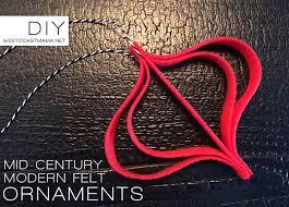 diy mid century modern felt ornaments margarita wyld