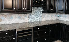 backsplash kitchen glass tile kitchen backsplash glass tile dark cabinets decoration kitchen glass