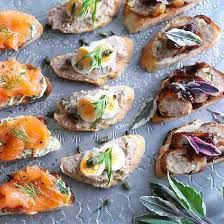 country homes and interiors recipes easy canapes recipe ideal home