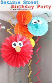 sesame street elmo birthday party loves glam
