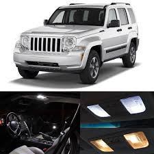 jeep liberty 2018 interior awesome great 5x white led lights interior package kit for 2008