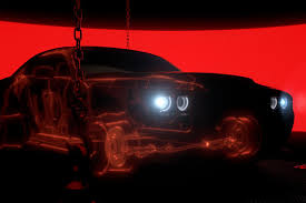 Dodge Challenger Red - first look 2018 dodge challenger srt demon ny daily news
