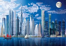 worlds tallest buildings wall mural buy at europosters worlds tallest buildings wallpaper mural