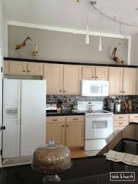 what color walls with oak cabinets mauve schmauve reducing the pink of pickled oak cabinets