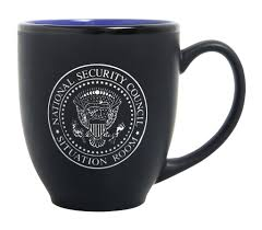 coffe cups the white house national security council situation room nsc
