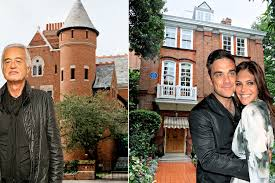 mansion attacks how do the superhomes of robbie williams and