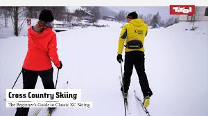 the beginner u0027s guide to classic cross country skiing youtube