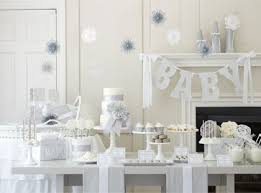 all baby shower plan a white winter baby shower pottery barn kids
