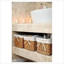 Wicker Basket Bathroom Storage Bathroom Baskets For Storage Search Spa Bath