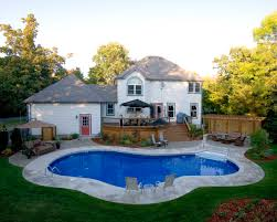 Pools For Backyards by Custom In Ground Swimming Pools Kingston Brockville Belleville