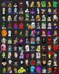 Meme Characters List - brad s 1000 character meme part 9 villains by thezoologist on
