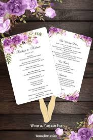 how to make your own wedding programs 55 best wedding program fans diy printable templates images on