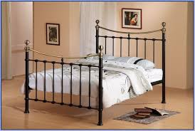 queen size metal canopy bed frame home design ideas