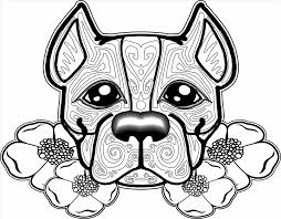 animal coloring pages printable coloring pages dog animal coloring page for kids pages free