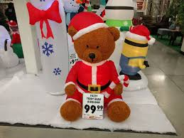new menards fuzzy inflatables for christmas this year