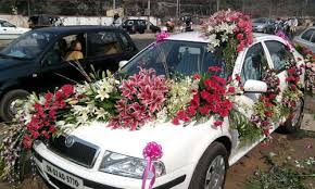 car decorations car decorations car decoration services usha flower decorators