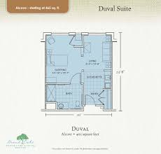 grand oaks assisted living facilities u2013 floor plans page a