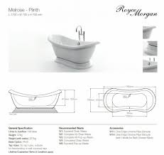 royce morgan melrose double ended bath with plinth uk bathrooms