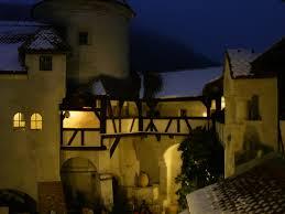 bran castle in romania on the border between transylvania and