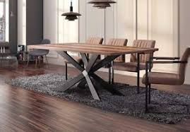 dining room table for 8 10 large georgio modern chic rustic metal wood dining table 8 10 12