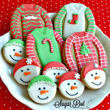sweater cookies order winter sugar cookies custom decorated