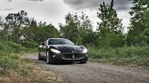 maserati black maserati granturismo black nature hd images download