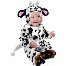 Childrens Animal Halloween Costumes by Amazon Com Infant Cow Farm Animal Baby Costume 18 24m Clothing