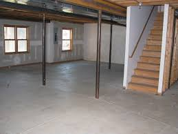 Cheap Basement Flooring Ideas Home Design Unfinished Basement Ideas On A Budget Cabin Home Bar