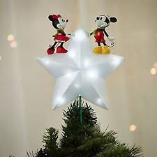 disney store mickey and minnie mouse tree topper 2016
