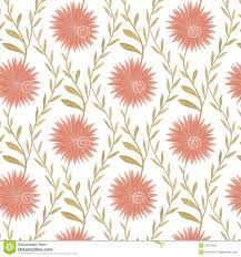 seamless flower pattern in country style royalty free stock images