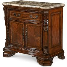 a r t furniture old world estate bedroom set in brown