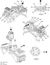 1992 chevy truck distributor cap spark plug wiring diagram