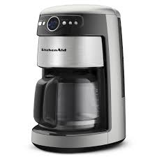 kitchenaid kcm222cu 14 cups coffee maker silver ebay
