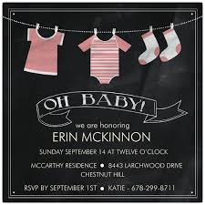 baby shower chalkboard baby clothes on chalkboard pink baby shower invitations paperstyle