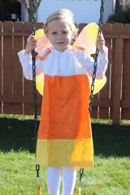 Candy Fairy Halloween Costume Candy Corn Fairy Child Costume Chasing Fireflies Holiday