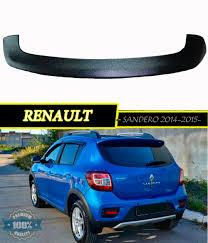 renault sandero stepway 2012 spoiler for renault sandero 2 renault sandero stepway 2014 2015